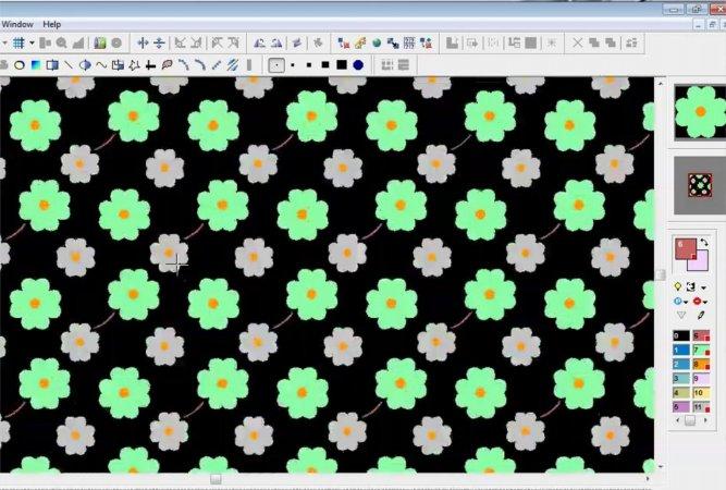 Bilgisayarda Halı Desen Tasarımı